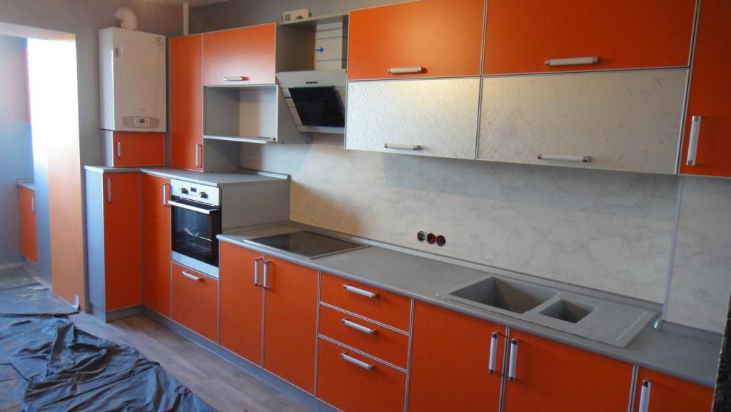 Кухня на заказ в квартире