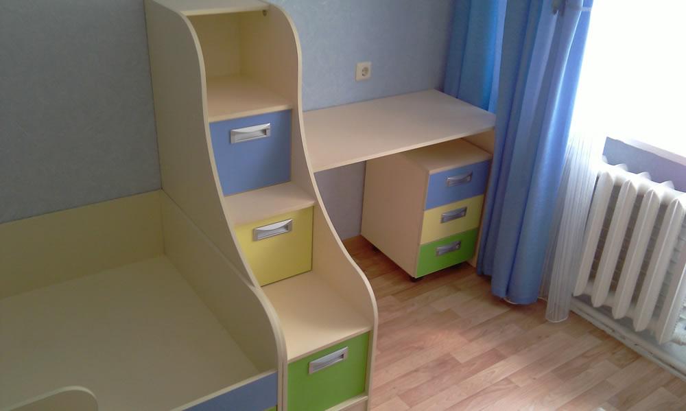 Детская мебель - кровать в детскую