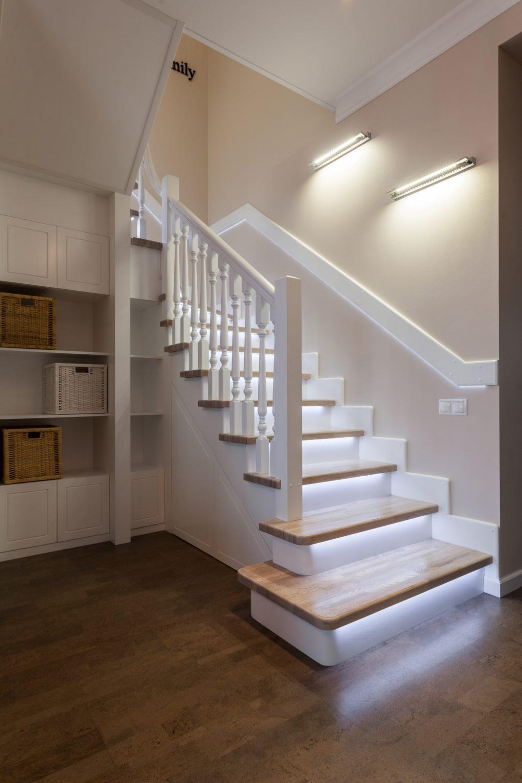 Лестница в частном доме