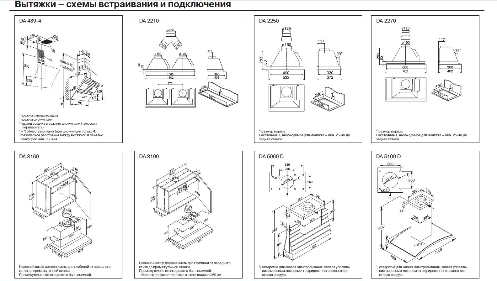 Подключение вытяжки на кухне схема